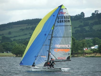 Lord Birkett Trophy Sailing on Ullswater