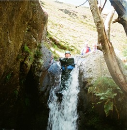 Gill Scrambling with Reach Beyond Adventure