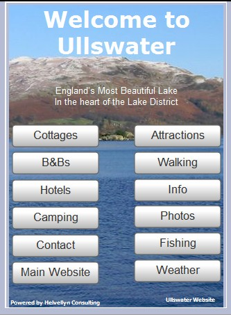 Ullswater Mobile Site